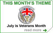 This month we celebrate the immense contribution Veterans make through volunteering
